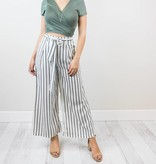 Bow Striped Pants