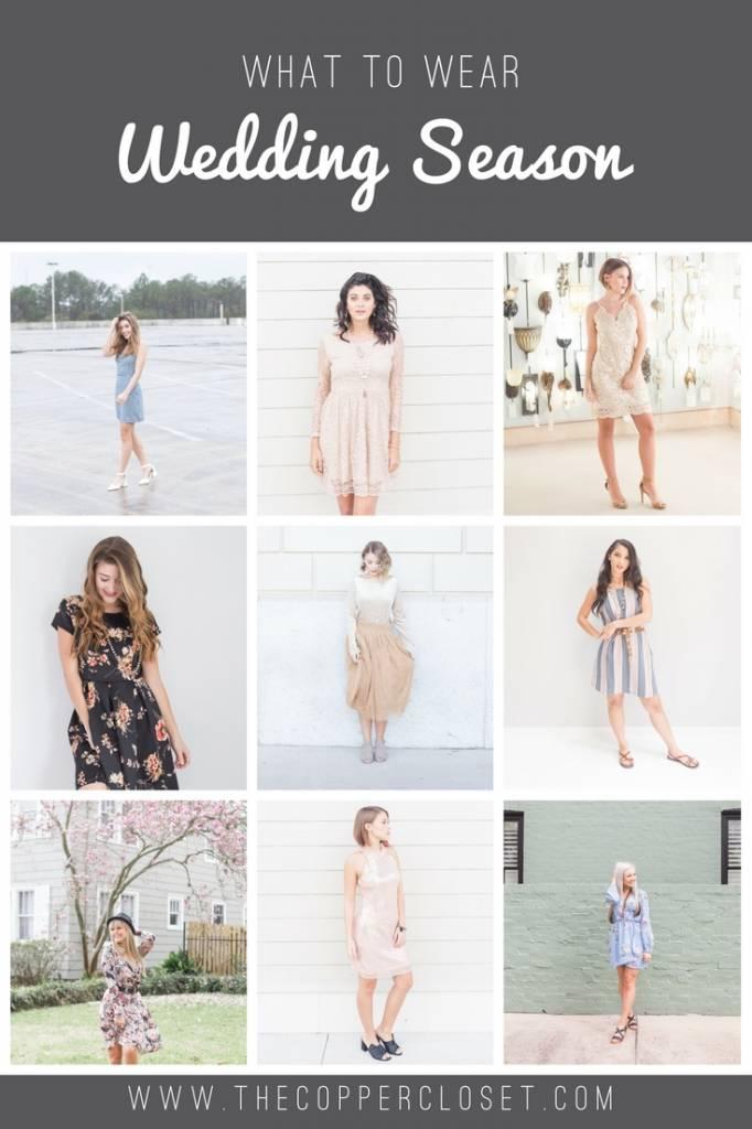What to Wear: Wedding Season