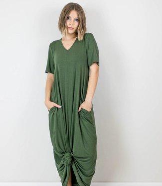T-Shirt Maxi Dress With Pockets