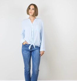 Blue Button Up Blouse