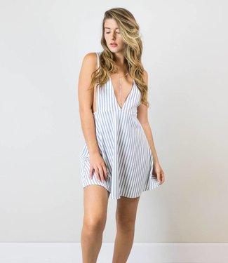 Striped Cutout Dress