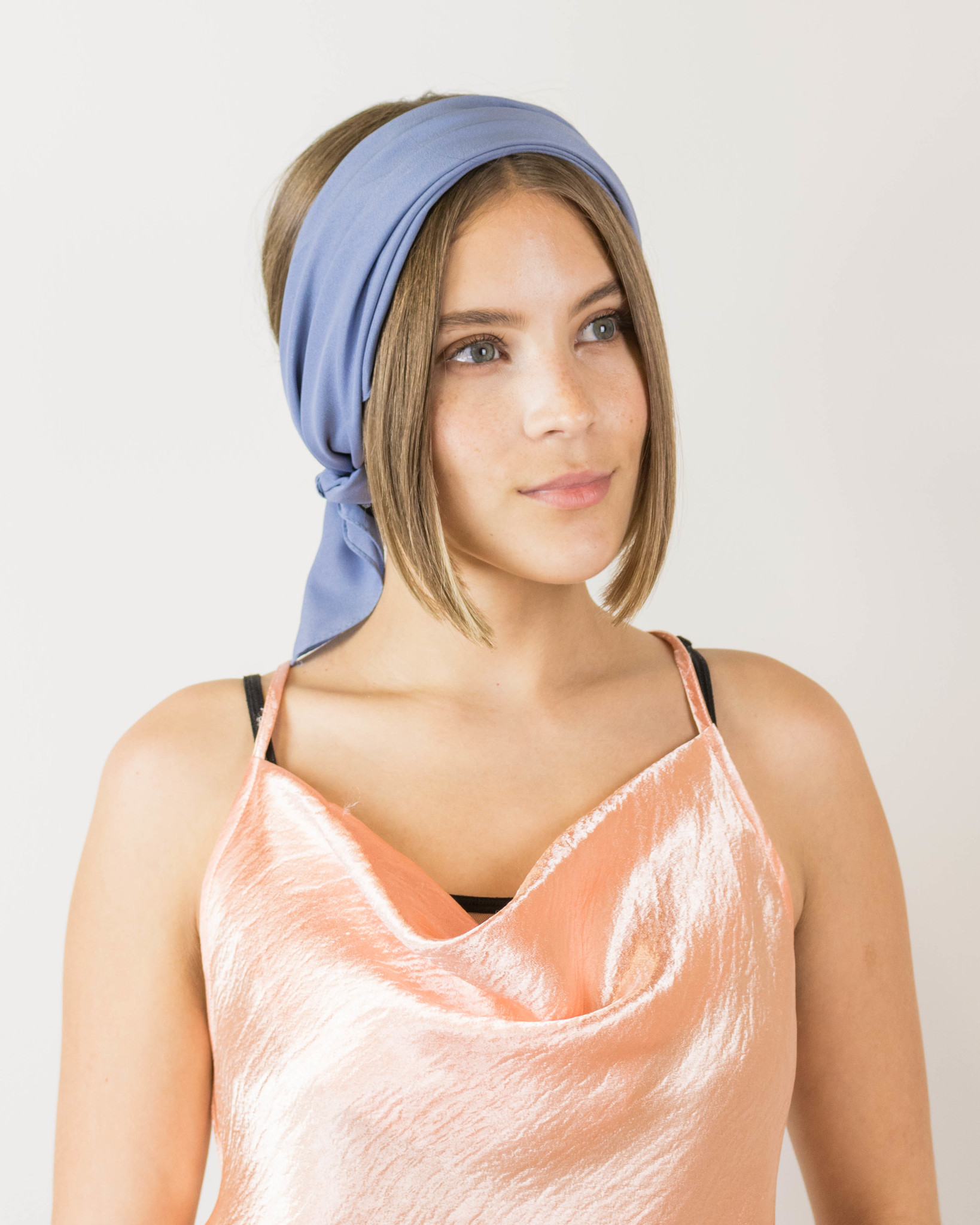 Neck Scarf at Headband