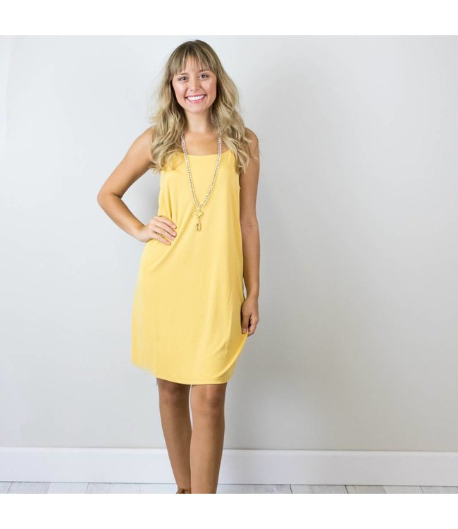 Spaghetti Strap Shift Dress