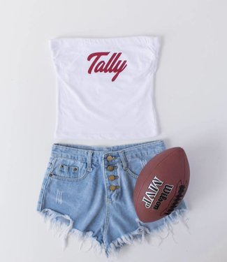 Tally Game Day Tube Top