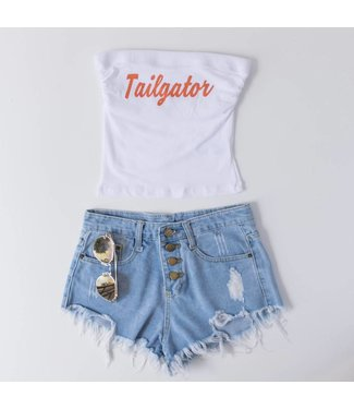 Tailgator Game Day Tube Top