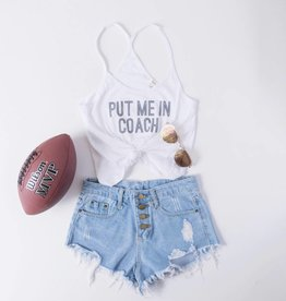 Put Me In Coach Game Day Tank