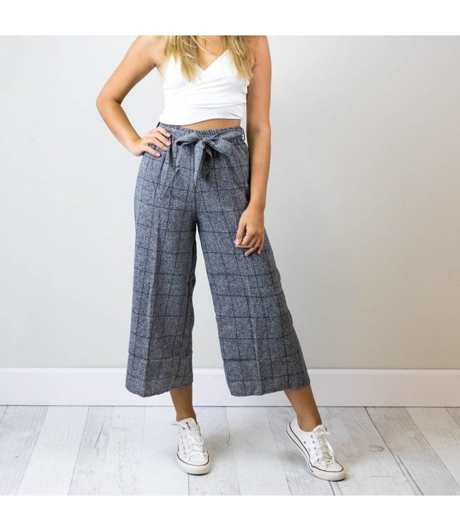 Bow Grid Pants
