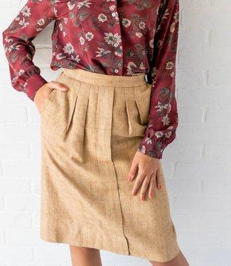 Vintage Linen Skirt
