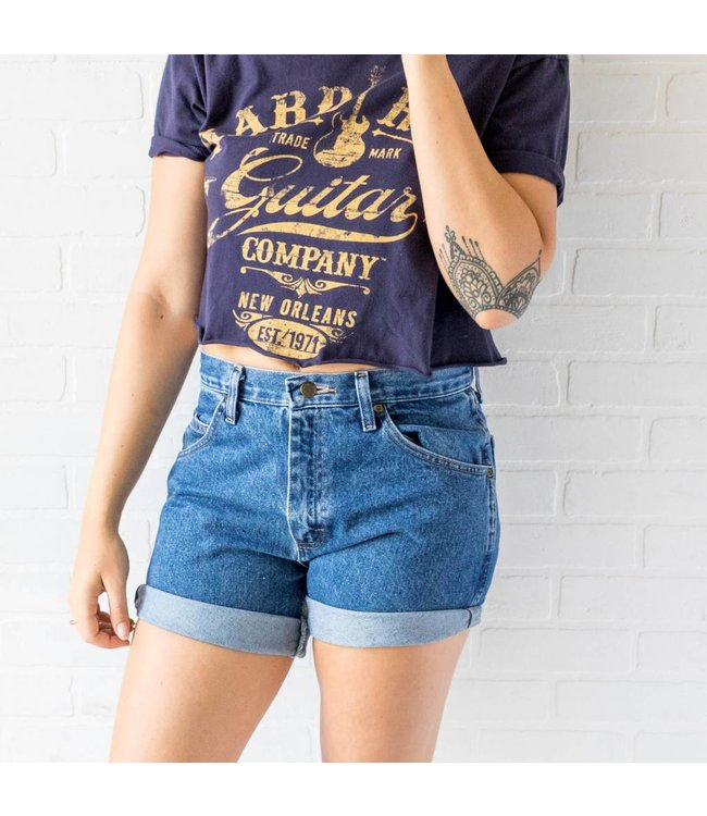 Vintage Wrangler Dark Wash Shorts