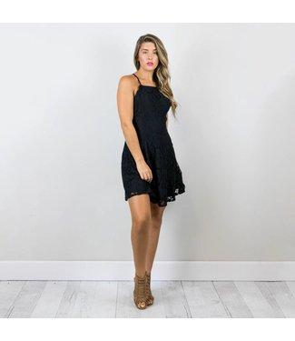 Scalloped Lace Dress