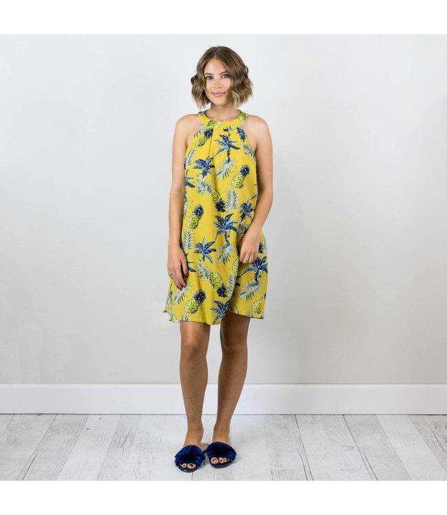 Racer Back Pineapple Dress