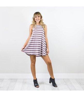 Tunic Striped Dress