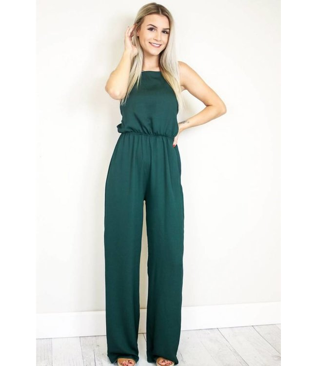Emerald Green Jumpsuit