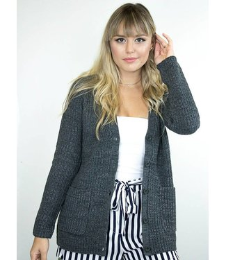 Knit Button Down Cardigan