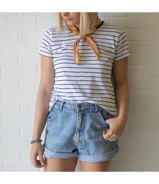 Vintage High Waisted Mom Shorts