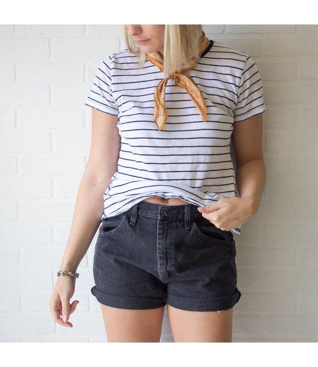 Vintage Black Rustler Shorts