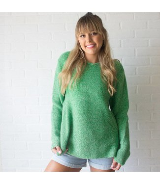 Vintage Lime Green Sweater