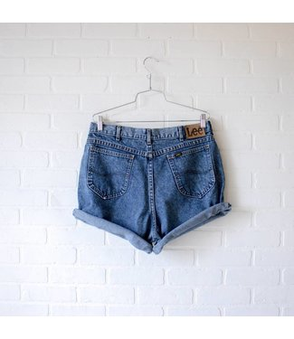 Vintage Medium Wash Lee Shorts