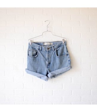 Vintage Light Wash Arizona Shorts