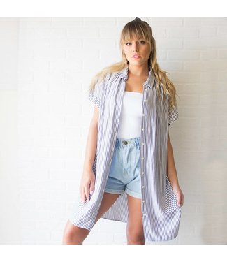 Vintage Tunic Button Down