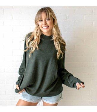 Vintage Olive Sweater