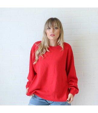 Vintage Red Tommy Hilfiger Sweater