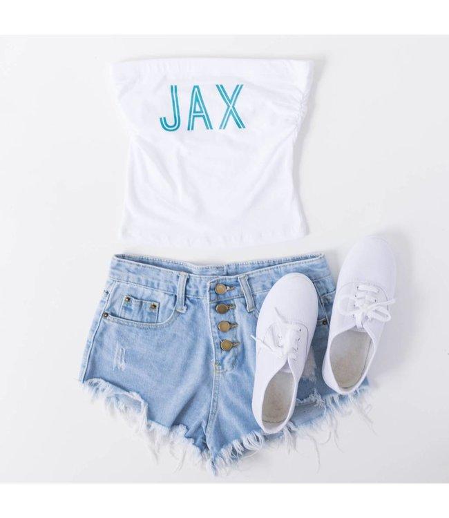 White Jax Game Day Tube