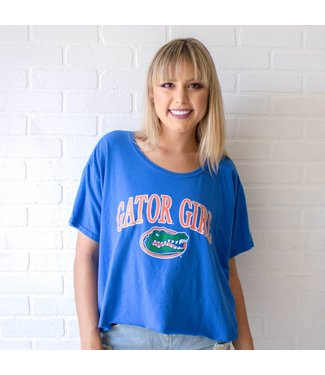 Vintage Gator Girl Tee