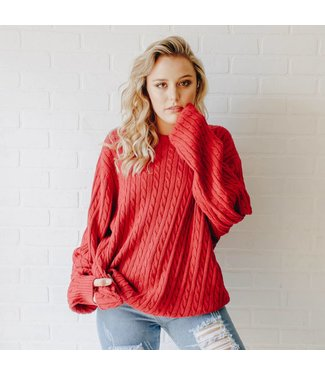 VINTAGE Red Chaps Sweater
