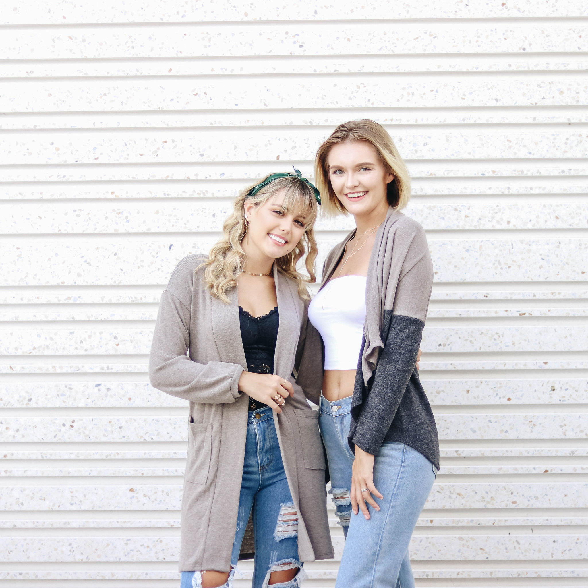 Neutral Color Cardigans