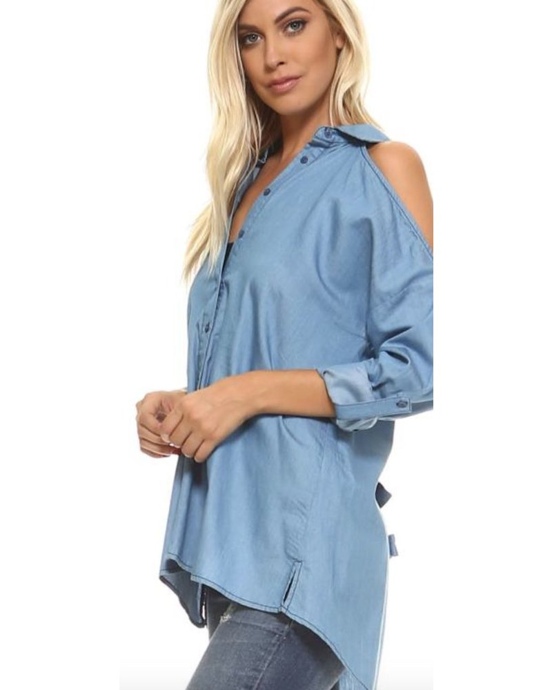 Back Open Shirt