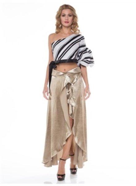 Silky Layered pant/skirt