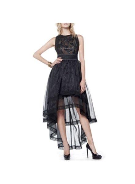 hi-lo lace dress