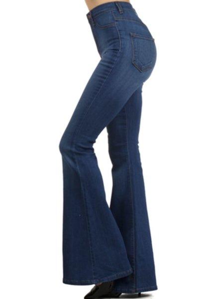 High Waist Jeans Medium Color