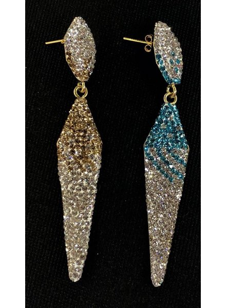 Pave 925 Earrings