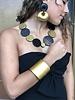 Domingo Isidore Wide Cuff Bracelet