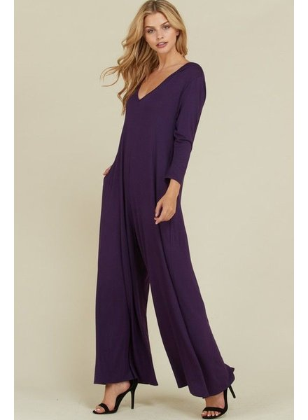 Hooded Jumpsuits with Pockets