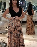 Maxi Dress By Claudia Orozco