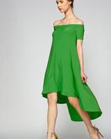 Modern Chic Off Shoulder Bardot Dress