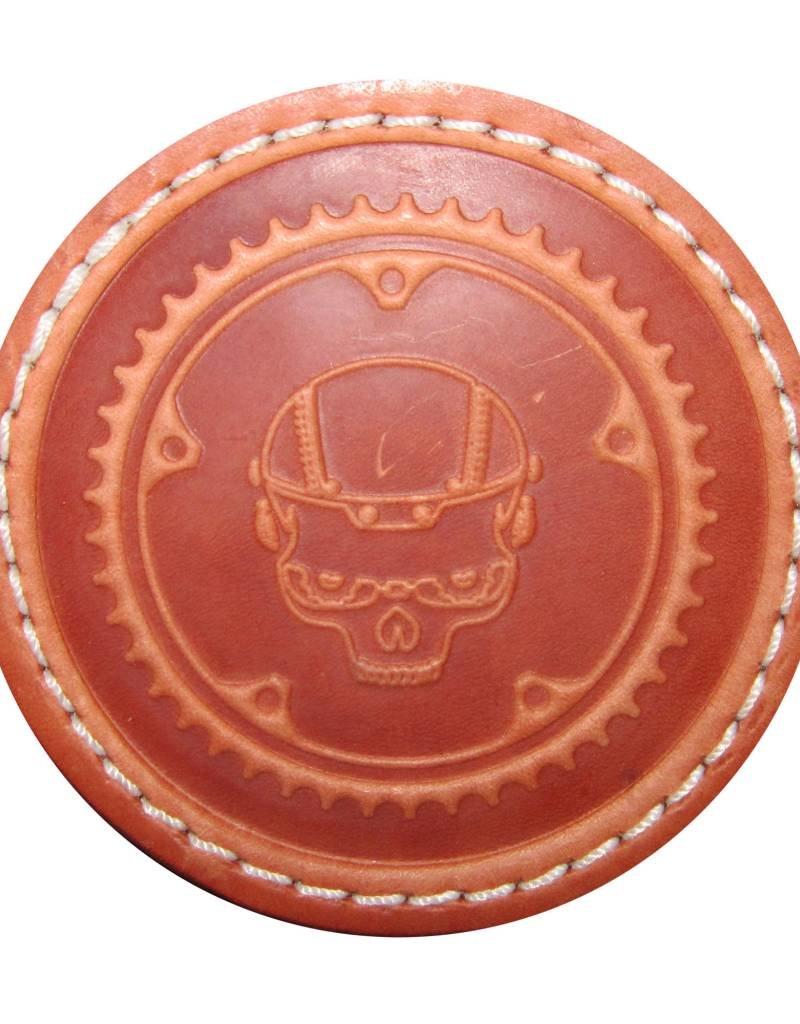 Boneshaker Coaster - Leather