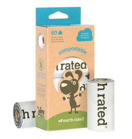 Earth Rated Poop Bags Compostable Poop Bags (60)