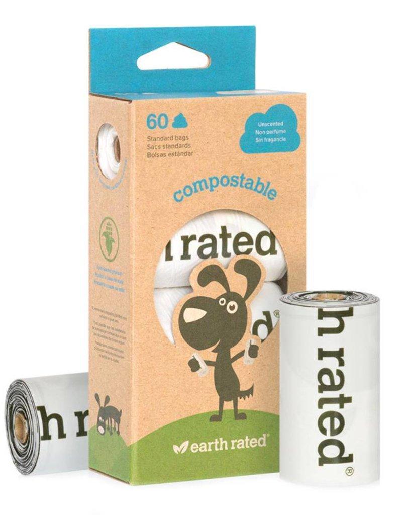 Earth Rated Poop Bags Compostable Poop Bags (60)
