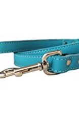 "Auburn Leather Turquoise 1/2""x72"""