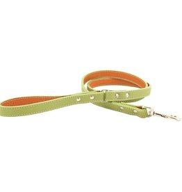 "Auburn Leather Green 1/2""x72"""