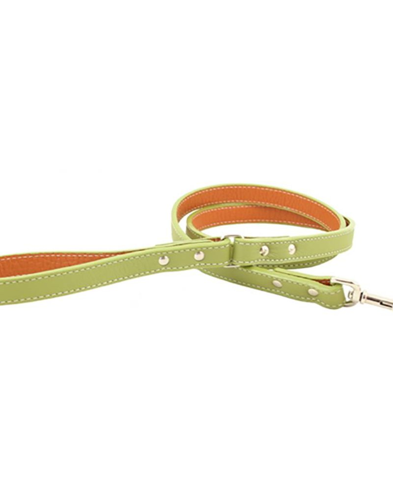 "Auburn Leather Green 1/2""x72"""