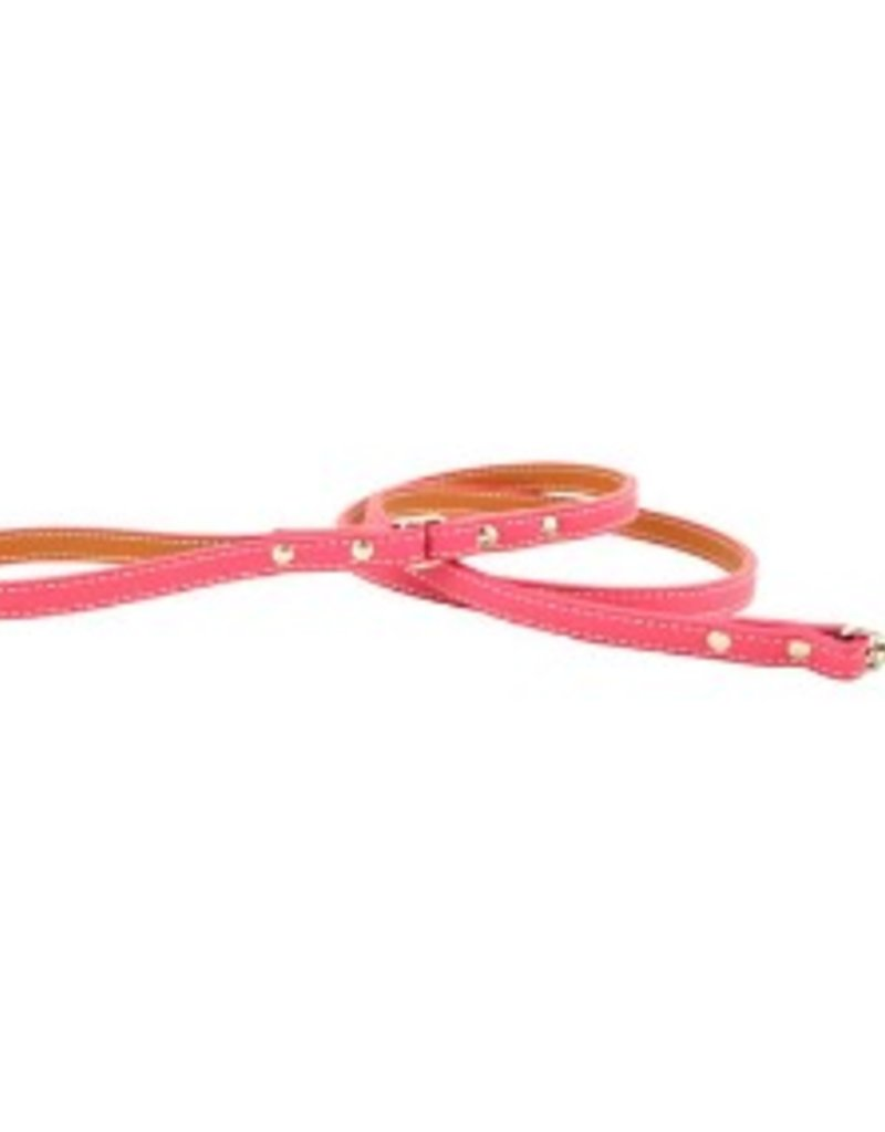 "Auburn Leather Pink 3/4""x72"""