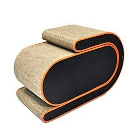 P.L.A.Y Two Piece Cat Scratcher Orange
