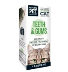 Natural Pet Pharmaceuticals Teeth & Gum (Cat)
