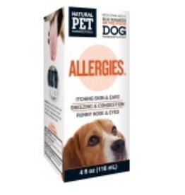 Natural Pet Pharmaceuticals Allergies