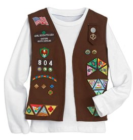 GIRL SCOUTS OF THE USA Brownie Vest